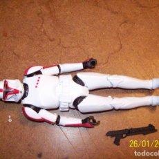 Figuras y Muñecos Star Wars: CLON TROOPE RED STAR WARS 15CMS. Lote 245092150
