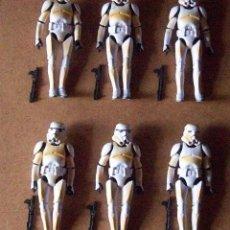 Figuras y Muñecos Star Wars: LOTE STAR WARS 15CMS STORM TROOPER DESERT. Lote 245094925
