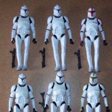 Figuras y Muñecos Star Wars: LOTE STAR WARS 15 CMS CLONE TROOPER. Lote 245095305
