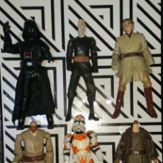 Figuras y Muñecos Star Wars: LOTE Nº1 DE 6 FIGURAS STAR WARS CON DEFECTOS, PARA PIEZAS O REPARAR. Lote 245136175