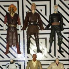 Figuras y Muñecos Star Wars: LOTE Nº2 DE 6 FIGURAS STAR WARS CON DEFECTOS, PARA PIEZAS O REPARAR. Lote 245136235