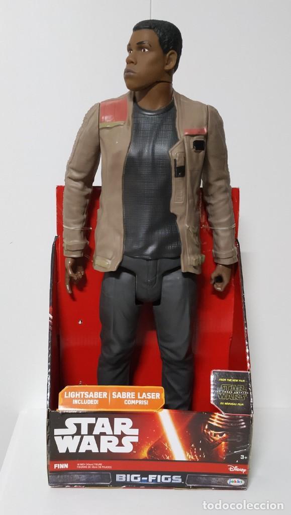 FIGURA STAR WARS FINN BIGS FIGS JOHN BOYEGA EPISODIO VI 45CM, DISNEY, JAKKS PACIFICS (Juguetes - Figuras de Acción - Star Wars)