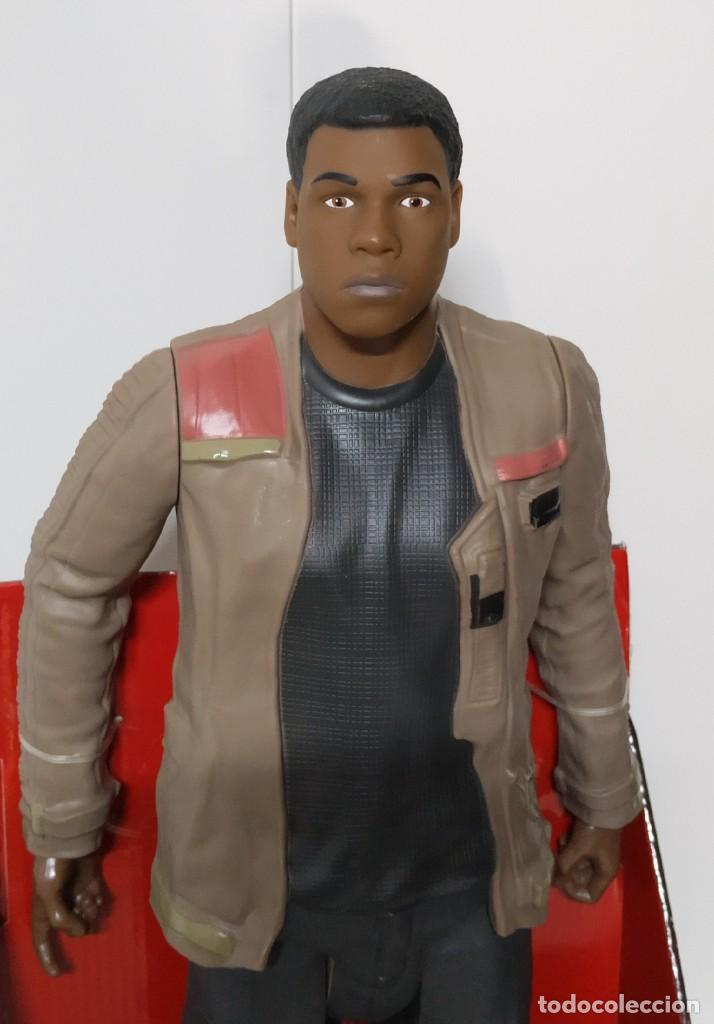 Figuras y Muñecos Star Wars: FIGURA Star Wars Finn BIGS FIGS John Boyega Episodio VI 45cm, Disney, jakks PACIFICS - Foto 3 - 245305855