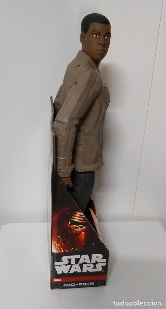 Figuras y Muñecos Star Wars: FIGURA Star Wars Finn BIGS FIGS John Boyega Episodio VI 45cm, Disney, jakks PACIFICS - Foto 7 - 245305855