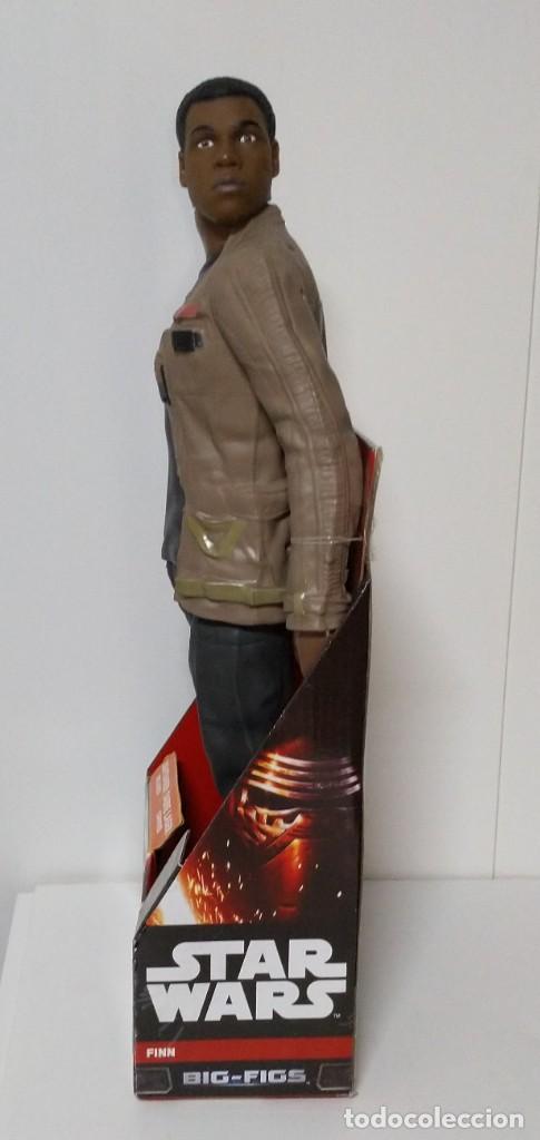 Figuras y Muñecos Star Wars: FIGURA Star Wars Finn BIGS FIGS John Boyega Episodio VI 45cm, Disney, jakks PACIFICS - Foto 9 - 245305855