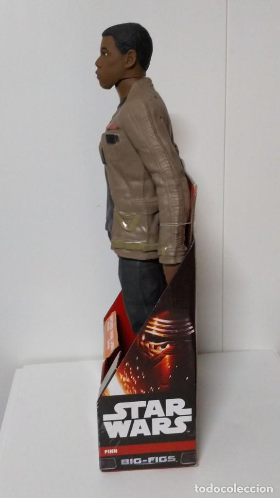 Figuras y Muñecos Star Wars: FIGURA Star Wars Finn BIGS FIGS John Boyega Episodio VI 45cm, Disney, jakks PACIFICS - Foto 10 - 245305855