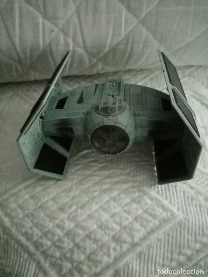 Figuras y Muñecos Star Wars: nave star wars micro machines action fleet darth vader tie fighter de 1996 - Foto 2 - 245372460