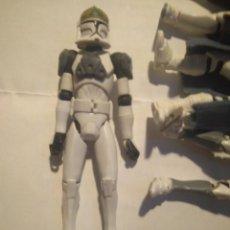 Figuras y Muñecos Star Wars: CLONE TANK GUNNER (CLONE WARS) THE CLONE WARS COLLECTION #36, 2009 STAR WARS FIGURA. Lote 245717475