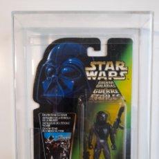 Figuras y Muñecos Star Wars: DEATH STAR GUNNER POTF2 TRILOGO MOC AFA 85 GRADED STAR WARS. Lote 246168300