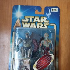Figuras y Muñecos Star Wars: FIGURA C-3PO - STAR WARS ATTACK OF THE CLONES - 2002 [PRECINTADO]. Lote 246240185