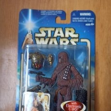 Figuras y Muñecos Star Wars: FIGURA CHEWBACCA CLOUD CITY CAPTURE - STAR WARS ATTACK OF THE CLONES - 2002 [PRECINTADO]. Lote 246241045