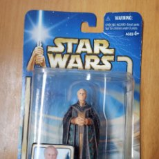 Figuras y Muñecos Star Wars: FIGURA SUPREME CHANCELLOR PALPATINE - STAR WARS ATTACK OF THE CLONES - 2002 [PRECINTADO]. Lote 246242295