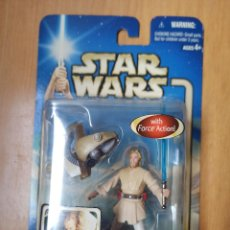 Figuras y Muñecos Star Wars: FIGURA OBI-WAN KENOBI - STAR WARS ATTACK OF THE CLONES - 2002 [PRECINTADO]. Lote 246246130