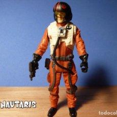 Figuras y Muñecos Star Wars: STAR WARS POE DAMERON (RESISTANCE PILOT) FORCE LINK - COLECCIÓN NARANJA HASBRO (2017). Lote 246294470