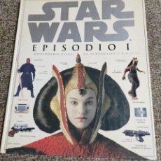 Figuras y Muñecos Star Wars: LIBRO STAR WARS 1999 EPISODIO 1 DICCIONARIO VISUAL DE PERSONAJES Y EQUIPOS. Lote 246752570