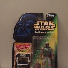 Figuras y Muñecos Star Wars: FIGURA BOBA FETT - STAR WARS - POWER OF THE FORCE - KENNER HASBR VINTAGE. Lote 246894875