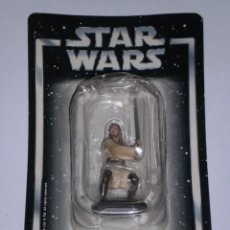 Figuras e Bonecos Star Wars: STAR WARS: - QUI-GON JINN - (LUCASFILM & TM LTD 2006) FIGURA METAL SIN ESTRENAR. ESCALA 1:32. Lote 247775950