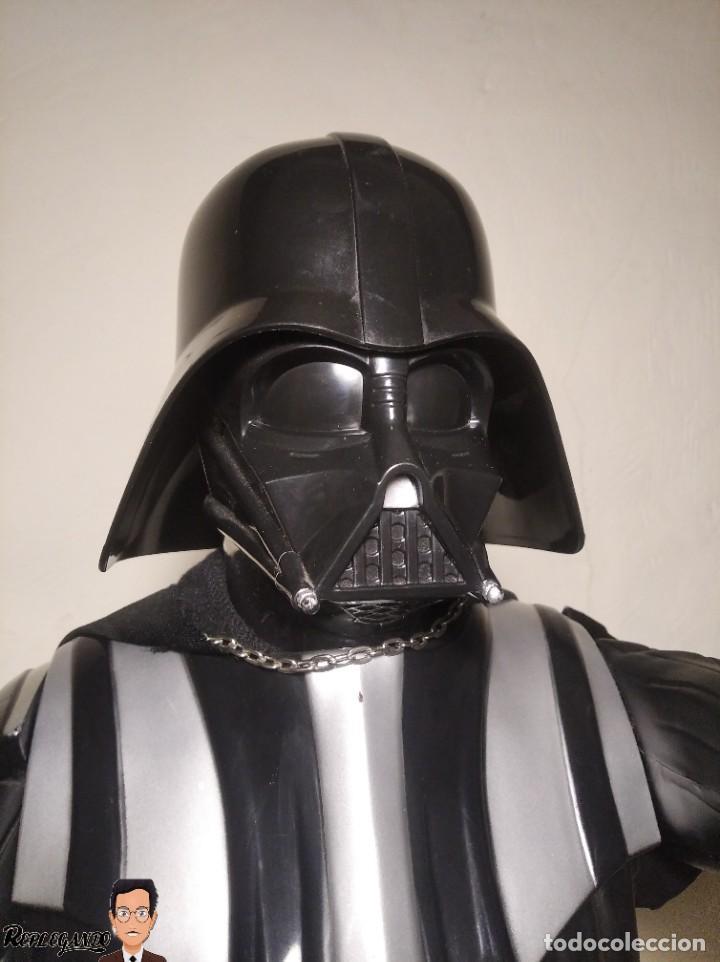Figuras y Muñecos Star Wars: DARTH VADER - GRAN FIGURA 80 CM - DE JAKKS PACIFIC - EDICIÓN LIMITADA Nº 1875NT01 - STAR WARS - Foto 2 - 248484955