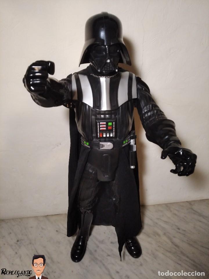 Figuras y Muñecos Star Wars: DARTH VADER - GRAN FIGURA 80 CM - DE JAKKS PACIFIC - EDICIÓN LIMITADA Nº 1875NT01 - STAR WARS - Foto 26 - 248484955