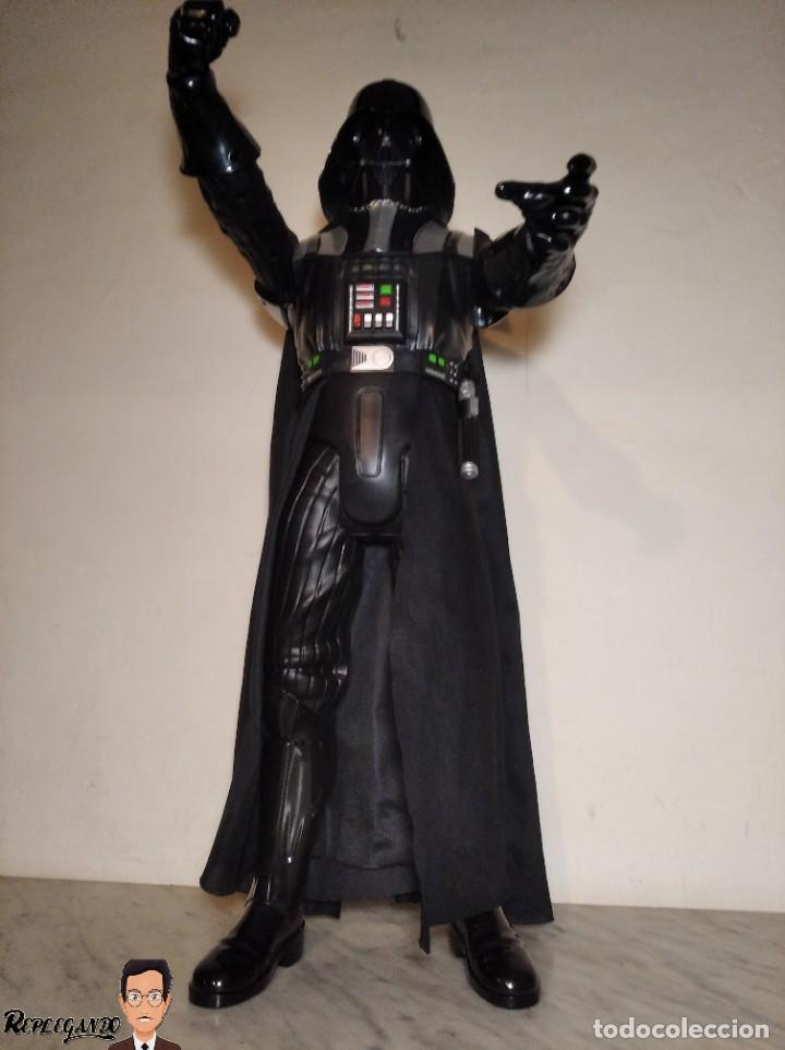 Figuras y Muñecos Star Wars: DARTH VADER - GRAN FIGURA 80 CM - DE JAKKS PACIFIC - EDICIÓN LIMITADA Nº 1875NT01 - STAR WARS - Foto 29 - 248484955