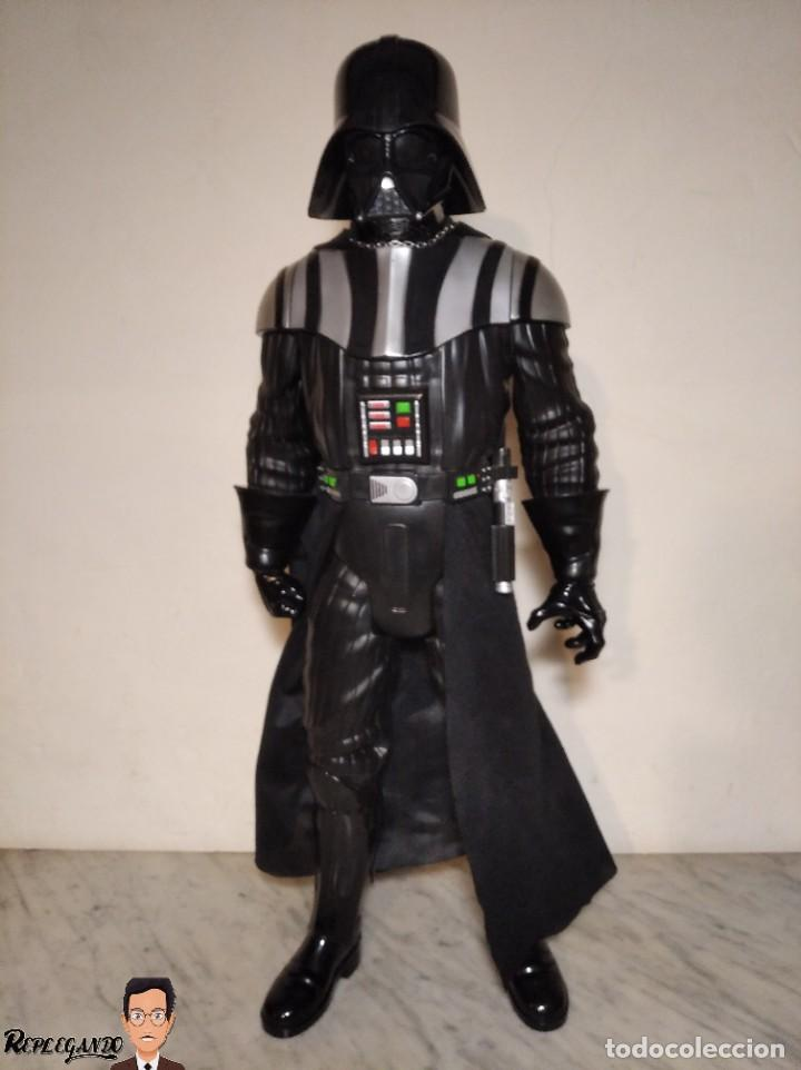 Figuras y Muñecos Star Wars: DARTH VADER - GRAN FIGURA 80 CM - DE JAKKS PACIFIC - EDICIÓN LIMITADA Nº 1875NT01 - STAR WARS - Foto 35 - 248484955