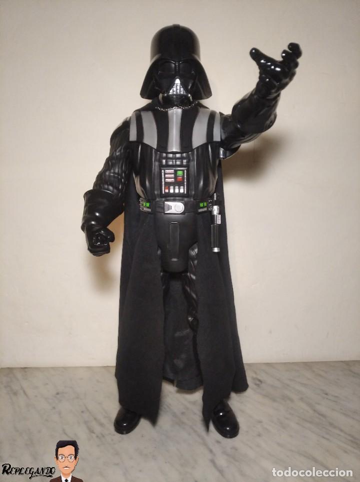 Figuras y Muñecos Star Wars: DARTH VADER - GRAN FIGURA 80 CM - DE JAKKS PACIFIC - EDICIÓN LIMITADA Nº 1875NT01 - STAR WARS - Foto 36 - 248484955