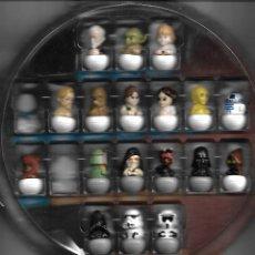 Figuras y Muñecos Star Wars: JUEGO STAR WARS ROLLINZ, CARREFOUR A FALTA DE 2 PIEZAS. Lote 248800705