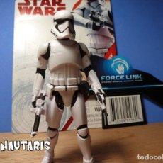 Figuras y Muñecos Star Wars: STAR WARS STORMTROOPER PRIMERA ORDEN FORCE LINK - COLECCIÓN NARANJA HASBRO (2017). Lote 252435370