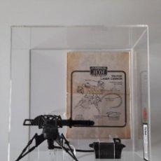 Figuras y Muñecos Star Wars: TRI-POD LASER CANNON LILI LEDY GRADED UKG 75 STAR WARS VINTAGE 1982 MEXICO. Lote 252663900