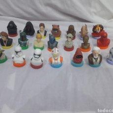 Figuras e Bonecos Star Wars: TAMPONES O SELLOS STAR WARS 21 BUSTOS. Lote 252683610