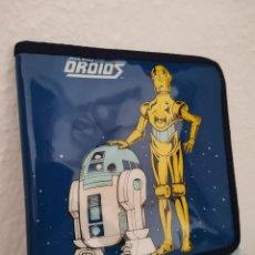 Figuras y Muñecos Star Wars: OCASION UNICA ! RAREZA CARTERA MONEDERO 1986 LUCASFILM GUERRA DE LAS GALAXIAS EWOKS DROIDS STAR WARS. Lote 254428205