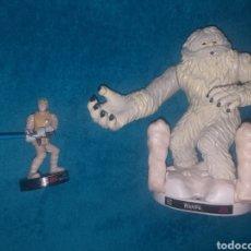 Figuras y Muñecos Star Wars: STAR WARS FIGURAS LUKE SKYWALKER HOTH Y WAMPA. Lote 254812640