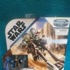 Figuras y Muñecos Star Wars: STAR WARS FIGURAS Y VEHÍCULO THE MANDALORIAN MISSI. Lote 254813070