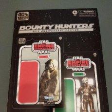 Figuras y Muñecos Star Wars: FIGURAS 40 ANIVERSARIO STAR WARS BOUNTY HUNTERS ZUCKUSS 4-LOM. Lote 254828435