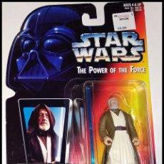 Figuras y Muñecos Star Wars: STAR WARS # BEN ( OBI-WAN ) KENOBI # THE POWER OF THE FORCE - NUEVO EN BLISTER ORIGINAL DE KENNER.. Lote 254998265