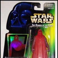 Figuras y Muñecos Star Wars: STAR WARS # EMPEROR´S ROYAL GUARD # THE `POWER OF THE FORCE - NUEVO EN BLISTER ORIGINAL DE KENNER.. Lote 254998850