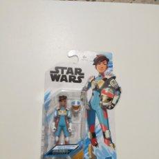 Figuras y Muñecos Star Wars: FIGURA EN BLISTER TORRA DOZA STAR WARS RESISTANCE HASBRO GUERRA GALAXIAS PILOTO RESISTENCIA. Lote 255549960