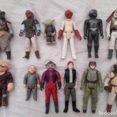 Figuras y Muñecos Star Wars: LOTE DE 12 FIGURAS STAR WARS VINTAGE. Lote 255666440