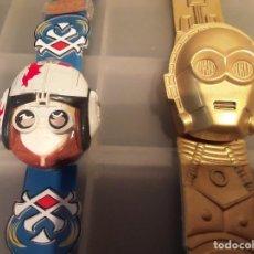 Figuras e Bonecos Star Wars: FIGURA STAR WARS RELOJ STAR WARS. C3PO Y ANAKYN SKYWALKER. Lote 256029975