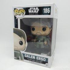 Figuras y Muñecos Star Wars: GALEN ERSO - FUNKO POP STAR WARS ROGUE ONE NÚM 186. Lote 256049885