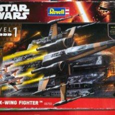 Figuras y Muñecos Star Wars: MAQUETA STAR WARS REVELL POES X-WING FIGHTER. Lote 256115410