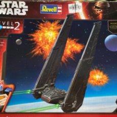 Figuras y Muñecos Star Wars: MAQUETA STAR WARS REVELL KYLO RENS COMMAND SHUTTLE. Lote 256115700