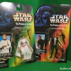 Figure e Bambolotti Star Wars: LEIA HAN SOLO BOOTLEG 2ND TRILOGY. Lote 259007480