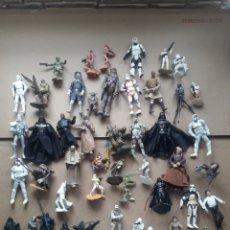 Figure e Bambolotti Star Wars: LOTE 48 FIGURAS STAR WARS AÑO 99 /07. Lote 259261310