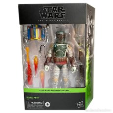 Figure e Bambolotti Star Wars: FIGURA BOBA FETT 18 CM- STAR WARS THE BLACK SERIES - HASBRO. Lote 259282295
