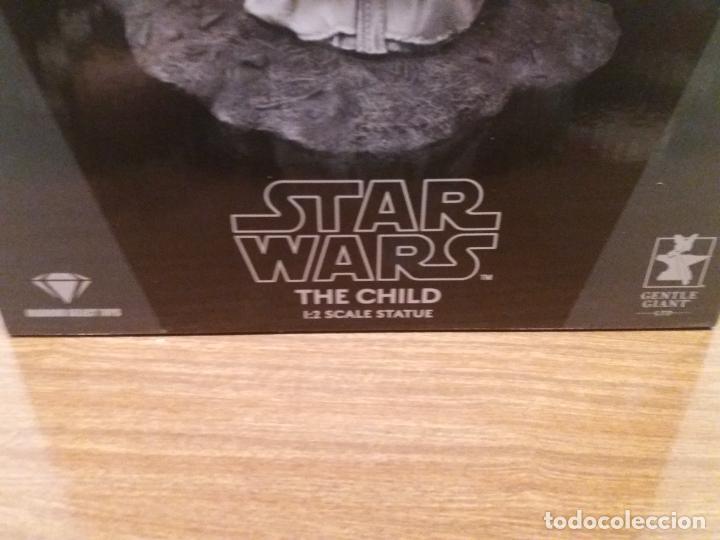 Figuras y Muñecos Star Wars: STATUE 1/2 STAR WARS THE CHILD - Foto 2 - 259953090
