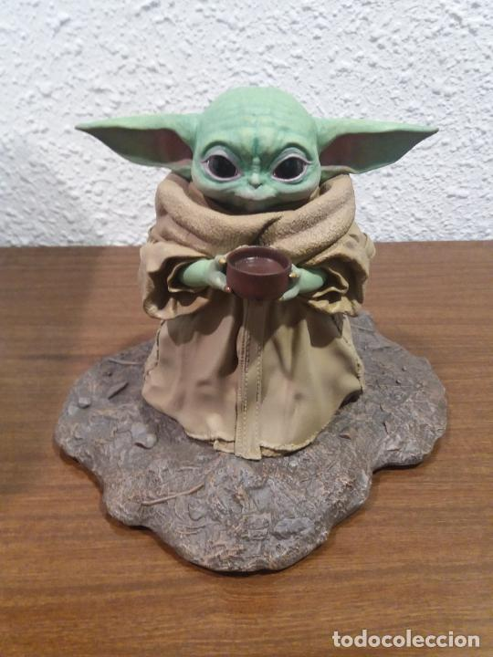 Figuras y Muñecos Star Wars: STATUE 1/2 STAR WARS THE CHILD - Foto 17 - 259953090