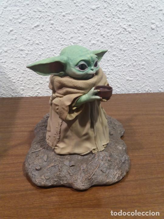 Figuras y Muñecos Star Wars: STATUE 1/2 STAR WARS THE CHILD - Foto 18 - 259953090