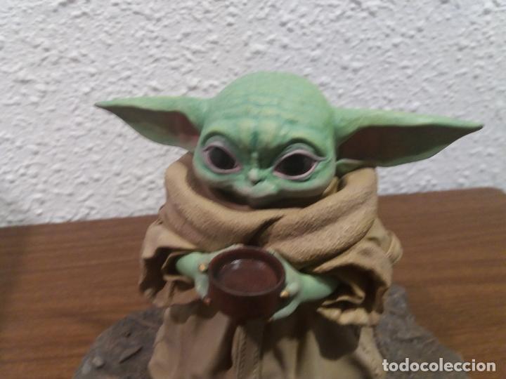 Figuras y Muñecos Star Wars: STATUE 1/2 STAR WARS THE CHILD - Foto 23 - 259953090
