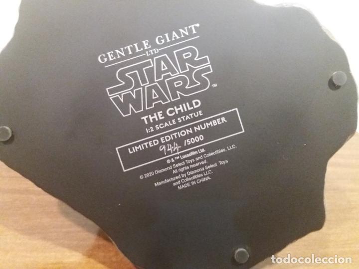 Figuras y Muñecos Star Wars: STATUE 1/2 STAR WARS THE CHILD - Foto 24 - 259953090